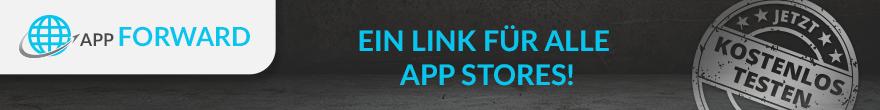 Banner App Forward Linkbündelung