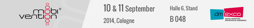 Banner dmexco Messe 2014