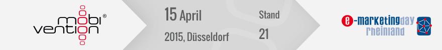 Banner e-Marketingday 2015 Düsseldorf