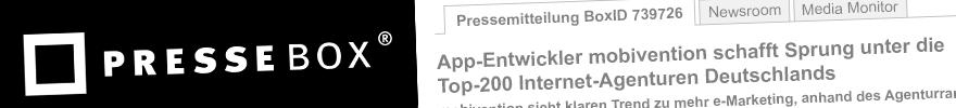 Banner Pressebox Top App-Entwickler