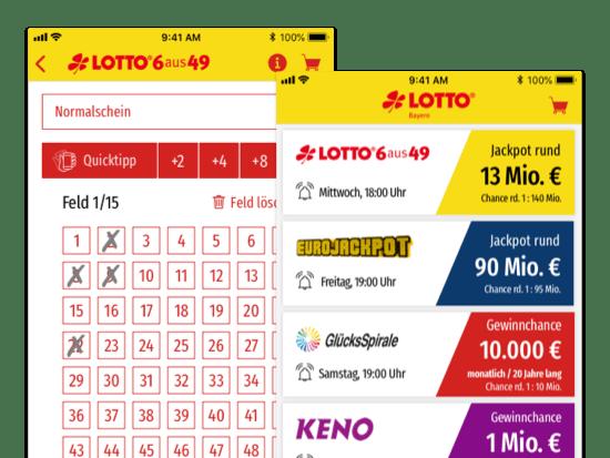 Lottoschein Abgabe