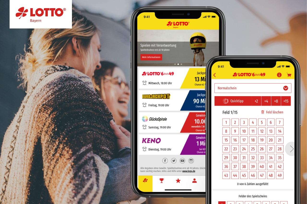 Referenze Vorscha Lotto Bayern Online App